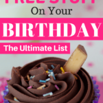 Who doesn't love free stuff? I'm so excited about all of these birthday freebies! So let's save money this year and enjoy all these free ideas. Come on kids let's celebrate the right way!