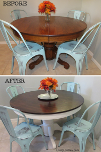 DIY small kitchen table