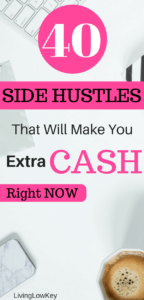 Looking for ways to make extra money? If so, check out this post filled with different ways to make extra money each month. These side jobs are meant to make money fast. So if you are looking to work come check out these side hustles.
