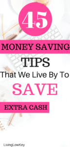 Are you looking to save extra money each month? Then you will love these ideas. I can't wait to start saving money with these awesome tips. This is some of the best frugal living advice!