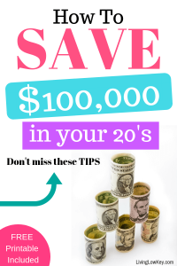 Looking to save money or pay off debt. This couple saved six figures in their 20's just by living frugally. Check out their money saving tips.