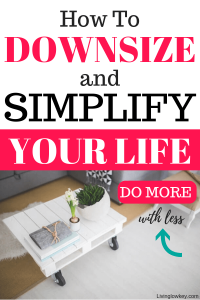 Declutter your home and your life with these awesome tips.