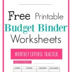 Download your 2018 Free Budget Binder Printables! I love this budget binder! If you want to save money and organize your finances you have to use this budget binder! Let's use these ideas to get you on track to paying off your debt. Start budgeting today!