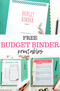 picture about Free Printable Budget Binder titled Absolutely free Funds Binder Printables: Produce Conserving Revenue Straightforward