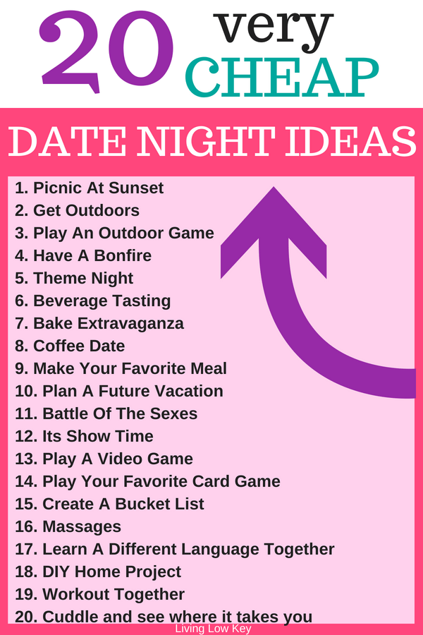 At Home Date Night Ideas For The Cheap And Frugal