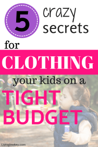 Looking to save money on kids clothing? These clothing hacks for children are genius!