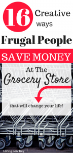 Have you been looking for ways to save money at the grocery store? These shopping hacks have helped us save big on groceries this year! So if you are looking for ideas to save money on food each month these shopping tips are to live by.