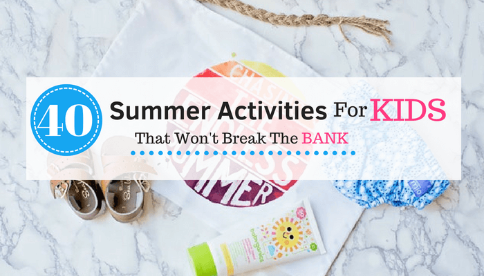 Looking for fun summer activities for your kids. Then you have to check these outdoor activities out.