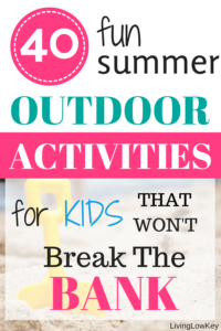You have to check out these fun summer activities for kids. Summers can be long so its good to have a plan. Best of all these ideas are cheap and won't break the bank.