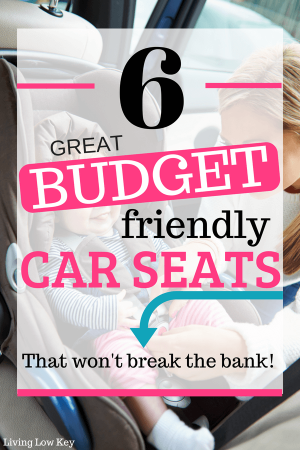 Keep your kids safe with this affordable car seat that fits any family budget. One of our top car seat recommendations!