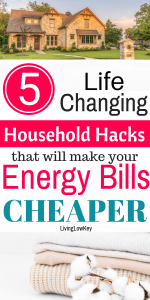 Looking to reduce your energy bill this winter? Check out these awesome household hacks.