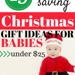 A baby's first Christmas is so special. Use this gift guide to help decide what to give your baby first their first Christmas.