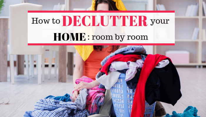 Lets get rid of clutter and declutter your home this week.