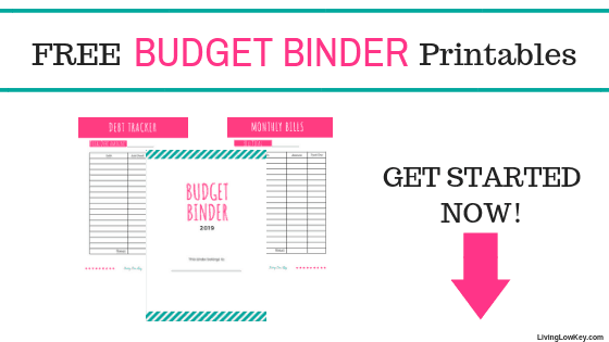 Free Budget Binder Printables Make Saving Money Easy