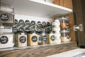 Such a fun way to keep your kitchen organized with this pantry essential.