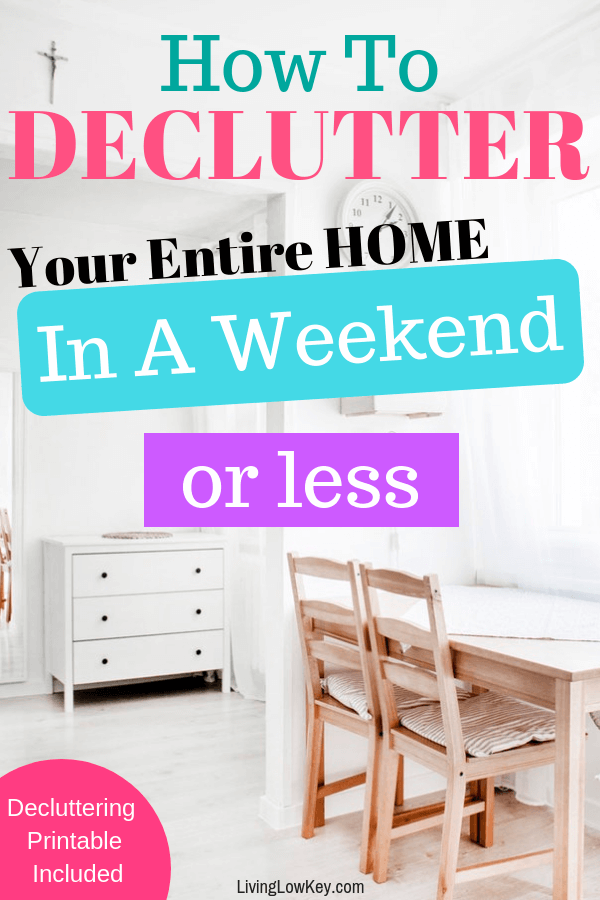 Do you have a messy kitchen that you just can't keep clean? Here are the best tips on decluttering your home.
