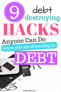 Looking to get out of debt. Such great tips to get your finances under control.