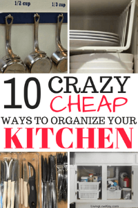 If you are looking to organize your pantry or other areas in your kitchen check out these hacks.