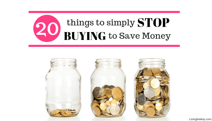 Stop buying to save money with these money jars.