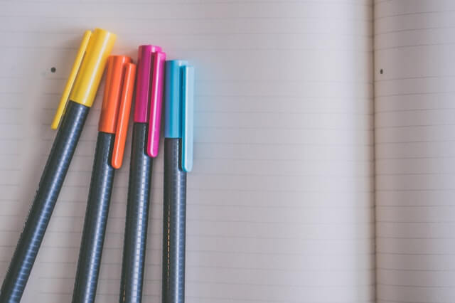 Filling out your bullet journal with our bullet journal setup guide.