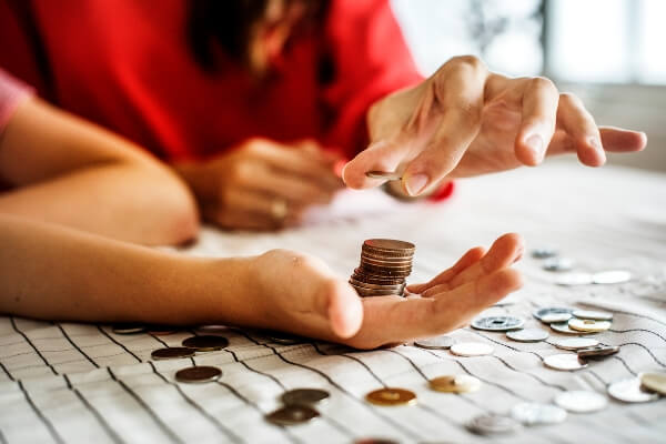 Counting loose change, you'll enjoy these easy ways to save money.