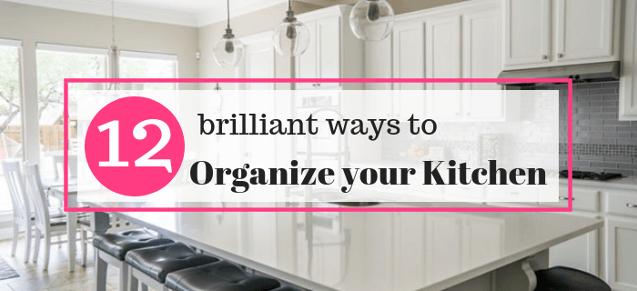 How to organize your kitchen for cheap.