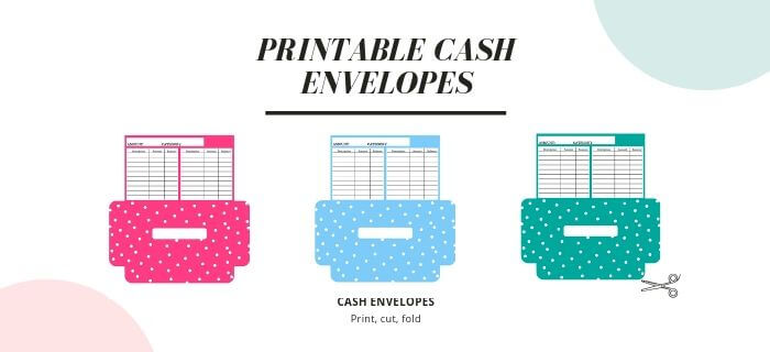 printable cash envelopes