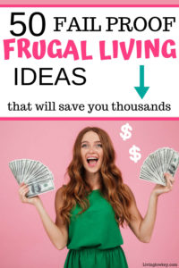 Frugal living tips with a big impact