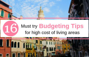 Great budgeting tips for high cost of living areas!