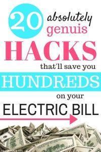 Electric bill help