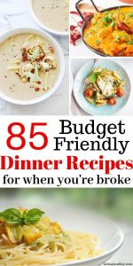 frugal meals on a small budget