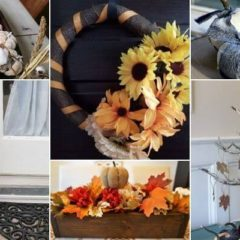 DIY dollar store fall decor