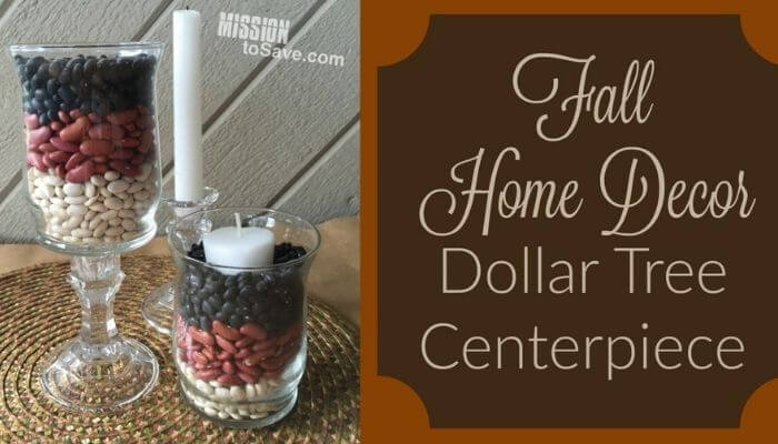 fall dollar tree decor