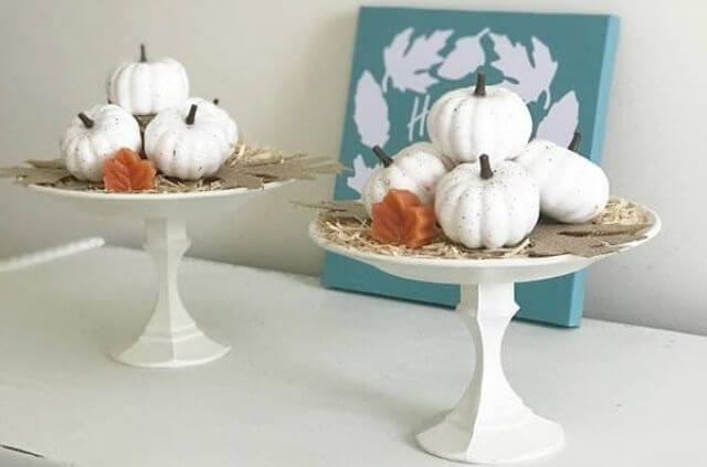Dollar Store DIY centerpiece