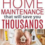 preventative home maintenance