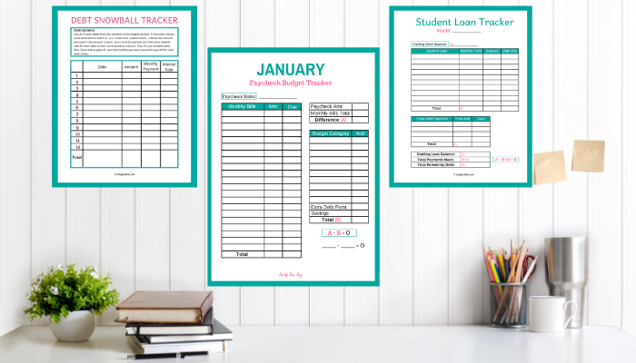 Simply the best Budgeting Tool out there. This Budget Binder has everything you need to control your finances for the next year!