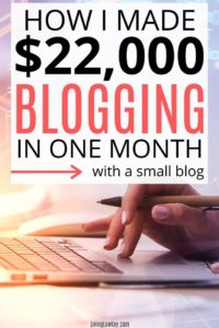 income blogging