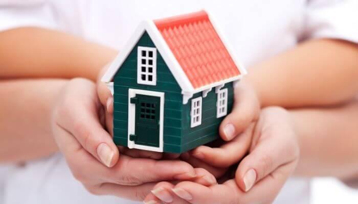 living mortgage free