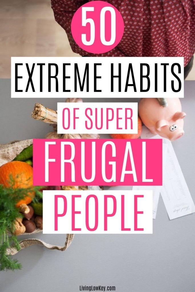 habits of the frugal