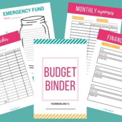 free printable bill organizer