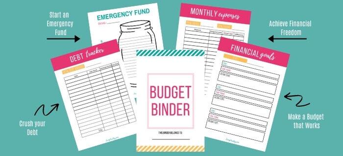 free printable bill organizer
