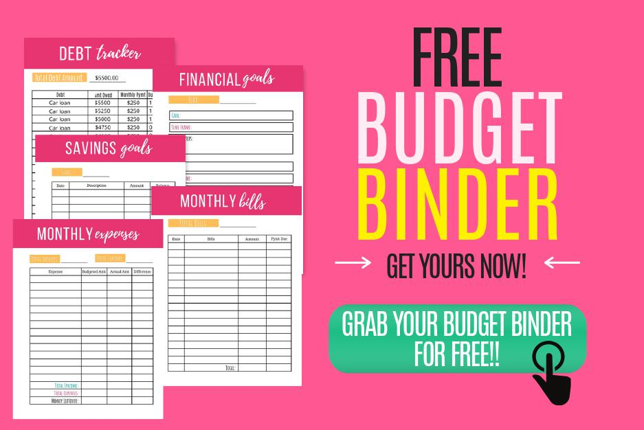 The Best Free Budget Binder