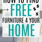 free furniture near me