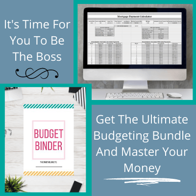Get The Ultimate Budgeting Bundle and Start Mastering Your Money