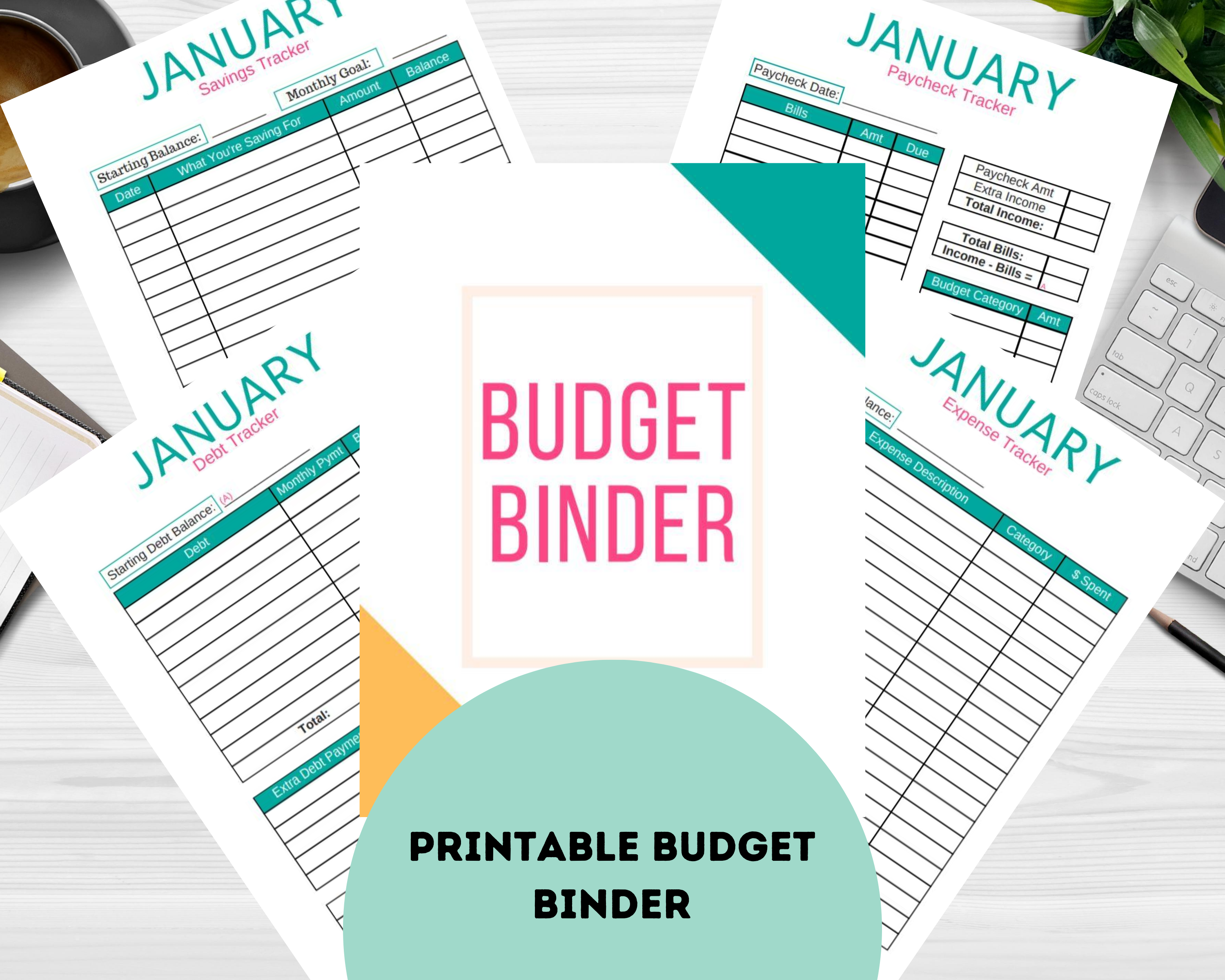 Get The Full Budget Binder Here