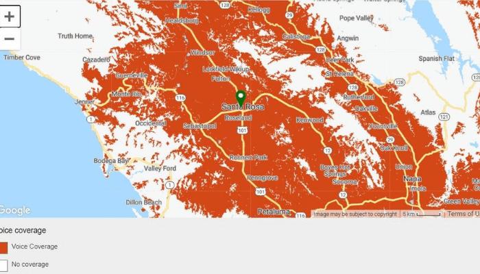 Tello Mobile Review - Tello Coverage Map