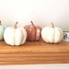diy pumpkin dollar tree