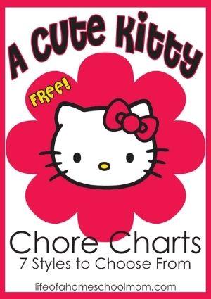 chore chart printable