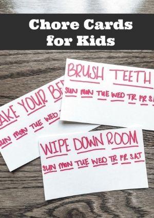 child chore charts