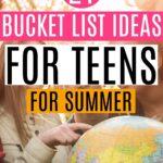 teen bucket list ideas